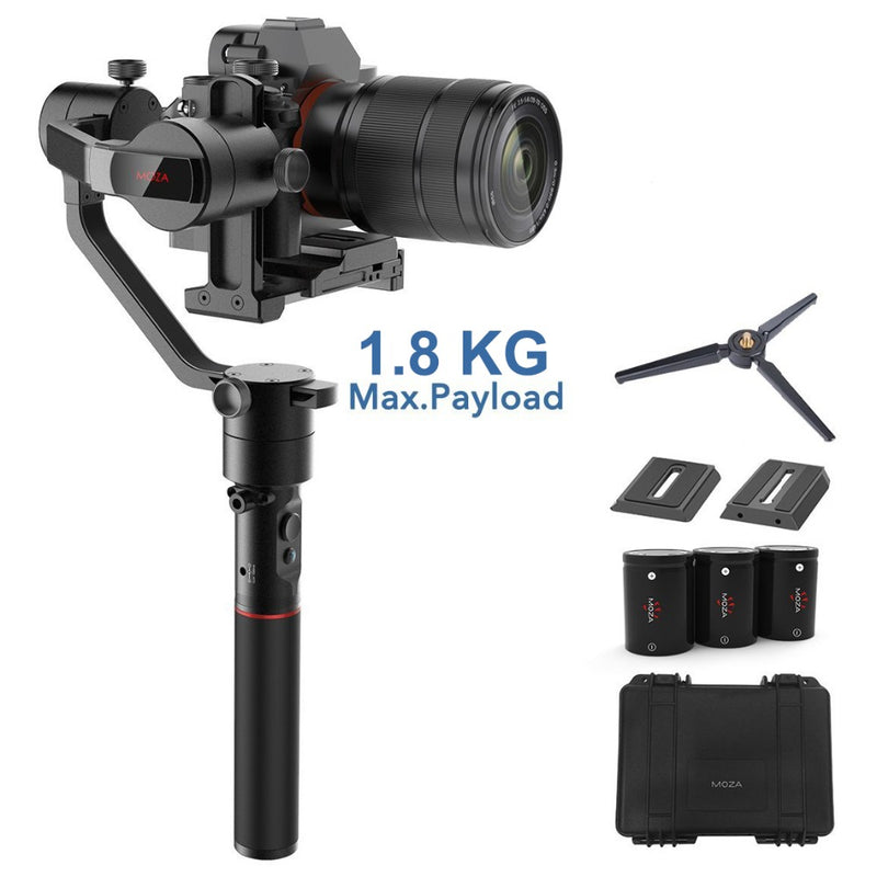 MOZA AirCross 3-Axis Gimbal Stabilizer for Mirrorless Camera up to 1.8 kg