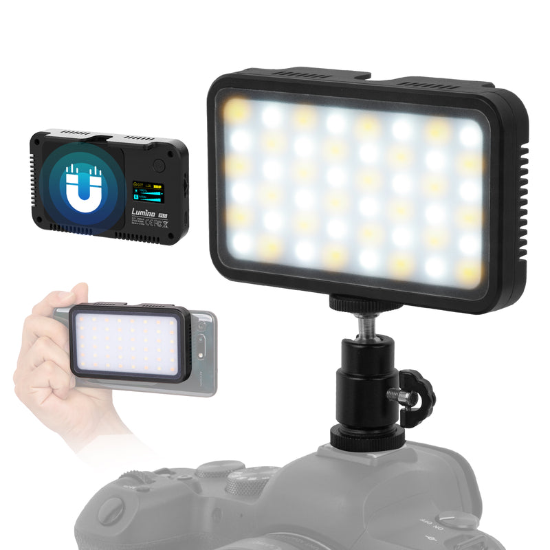 LUMINO PL5 Portable LED Video Light for Smartphone and Camera