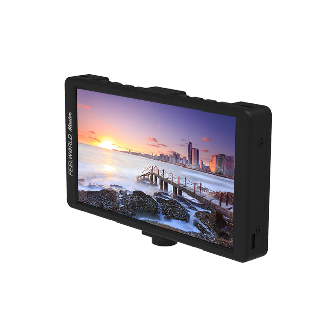 "FEELWORLD Master Series MA6 5.7"" On-Camera Monitor 1920x1080 4K HDMI Input/Output"