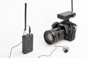 Saramonic SR-WM4C Wireless Lavalier Microphone System for Smartphones and DSLR Cameras (200' Range)