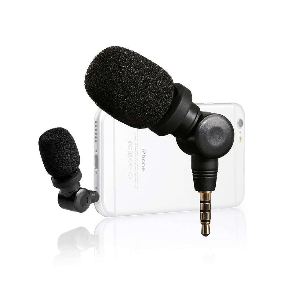 Saramonic SmartMic Mini Microphone for Apple IOS Devices and Android Smartphones