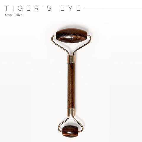 Crystal Energy Tiger's Eye Stone Roller for Face