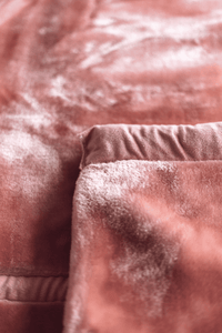 Soft Plush Blanket - Dusty Rose