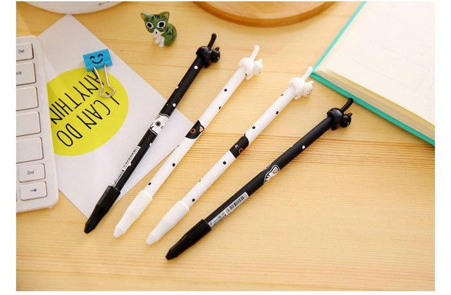 4Pcs Cute Cat Pen H&D