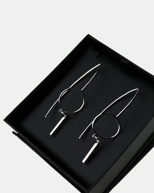 CA Jewellery Circle Wire Earrings