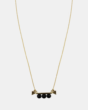 CA Jewellery Polished Necklace - Gold