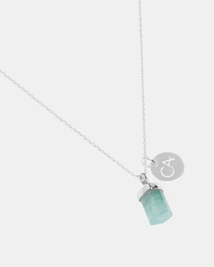 CA Jewellery Aquamarine Pendant Necklace