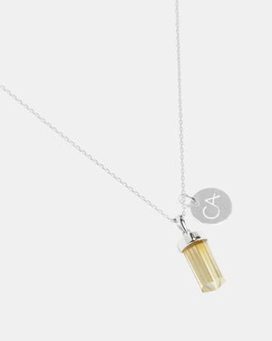 CA Jewellery Citrine Pendant Necklace