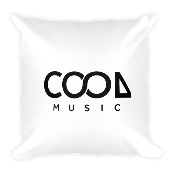 Cool Music Square Pillow