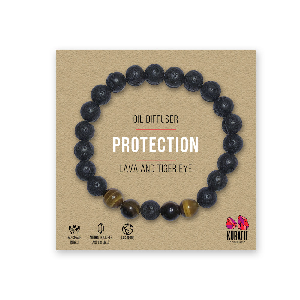 Tiger Eye Protection Bracelet