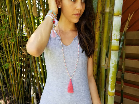 Love Mala- Rose Quartz