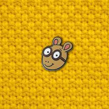 """Arthur"" Lapel Pin 