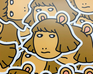 """DW Side-Eye"" Vinyl Sticker 