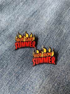 """Hot Boy Summer"" Lapel Pin 