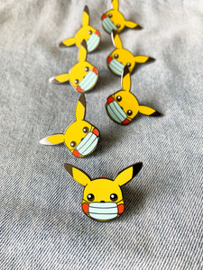 """Essential Pikachu"" Lapel Pin 