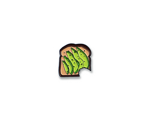 """Avocado Toast"" Lapel Pin 