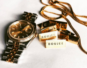 """Boujee"" Lapel Pin 