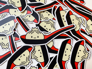 """Soup Dumpling"" Vinyl Sticker 