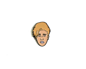 """Justin Bieber Sorry"" Lapel Pin 