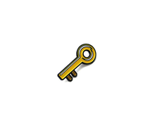 """Key Emoji"" Lapel Pin 