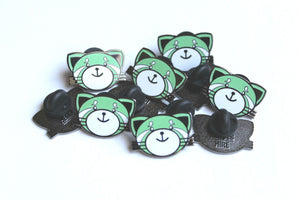 """Kiss Land"" Lapel Pin 