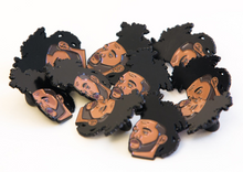 """The Weeknd King of the Fall"" Lapel Pin 