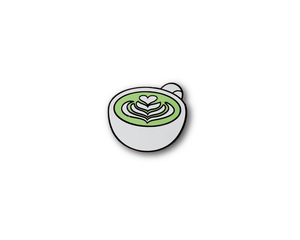 """Matcha"" Lapel Pin 