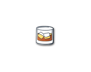 """Whiskey"" Lapel Pin 