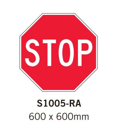 Barrier Group Stop Sign Specification