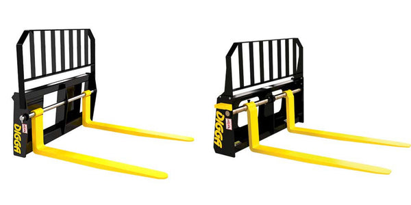 Digga Pallet Forks for Skid Steer Loaders All