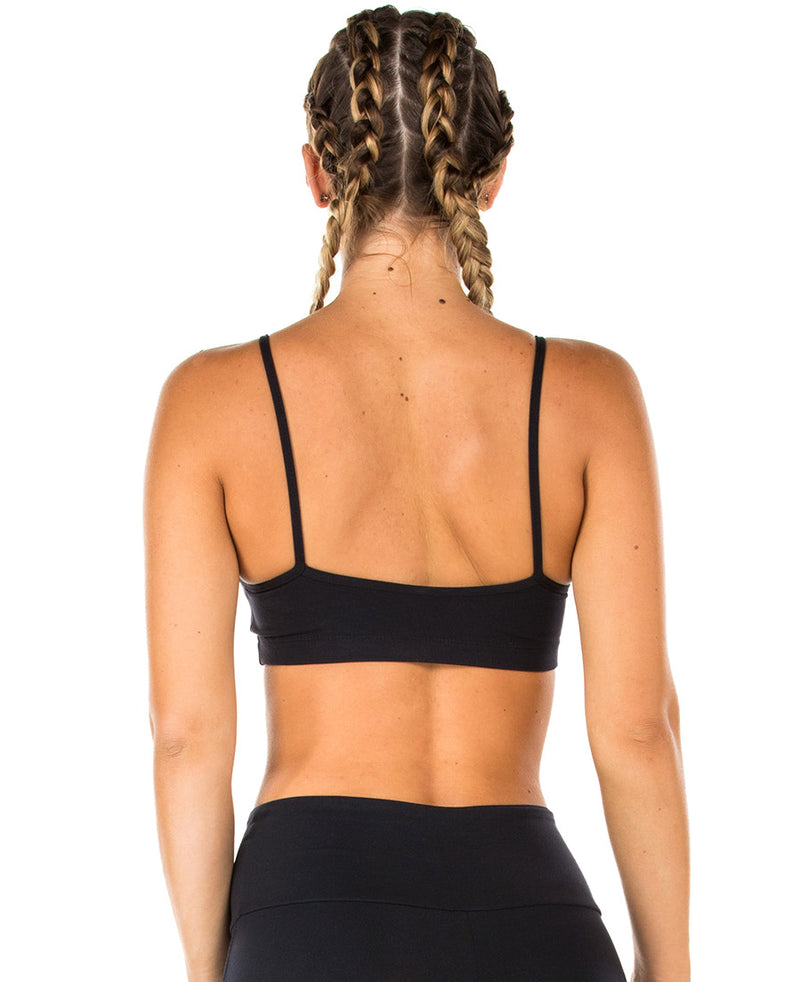 Strappy Supplex Top - Black
