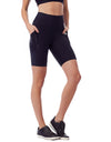Bike Shorts with Pocket - Black