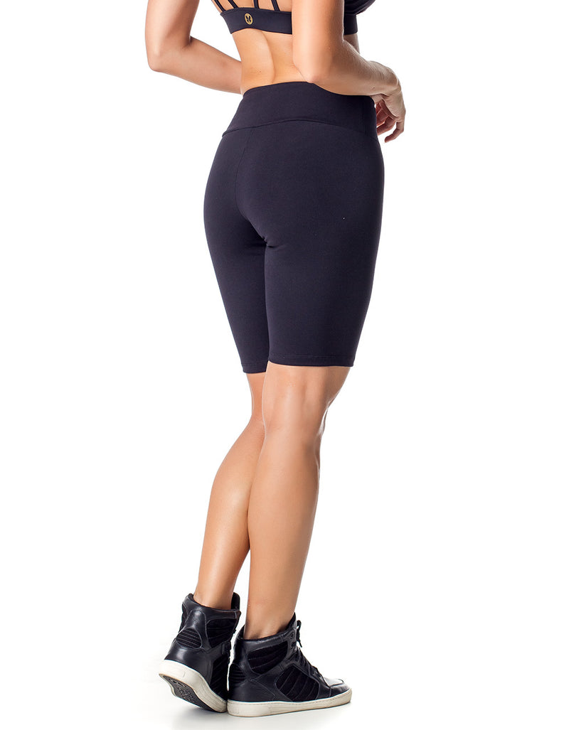 Supplex Bike Shorts - Black - Activewear Brazil
