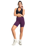 Supplex Shorts - Burgundy - Activewear Brazil
