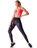 Coral Way F/L Tights - Activewear Brazil