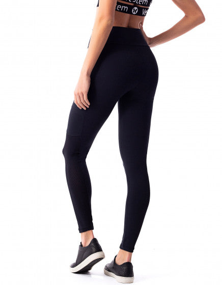 Phone Pocket F/L Tights - Black
