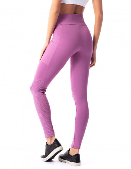 Phone Pocket F/L Tights - Pink