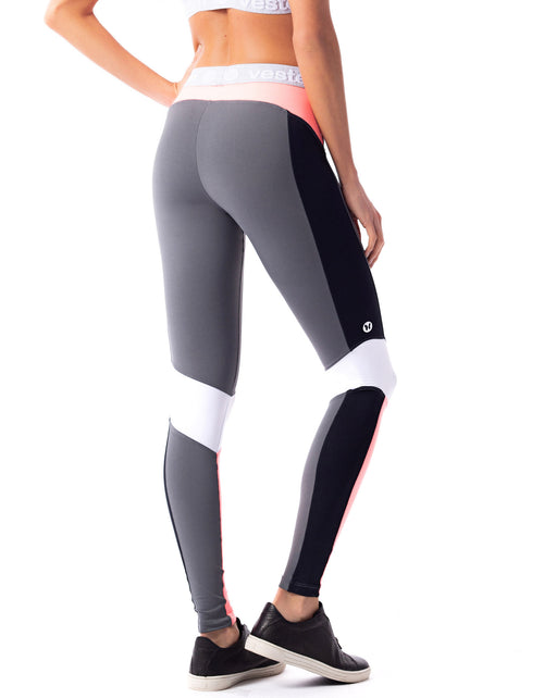 Colour Block Supplex F/L Tights - Activewear Brazil