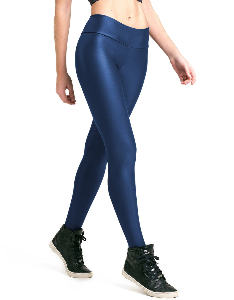 High Gloss Cirre F/L Tights - Navy