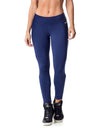 Basic Supplex F/L Tights - Navy - Activewear Brazil