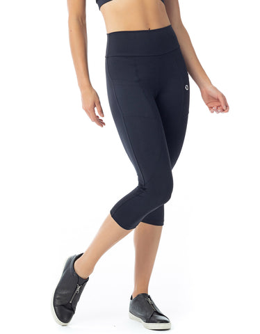 3D Textured Mesh Leggings - Mid Rise