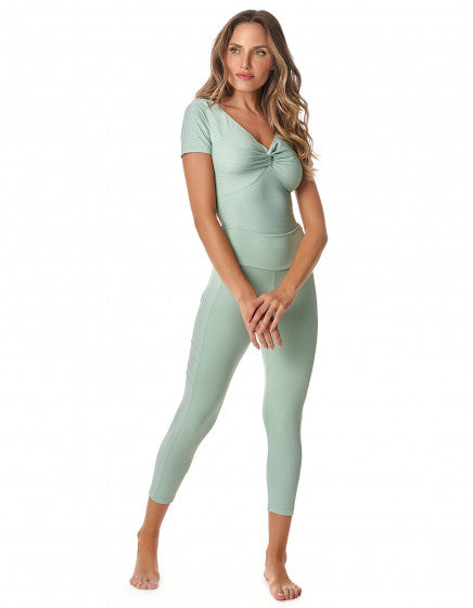 Mariane 3/4 Leggings - Mint