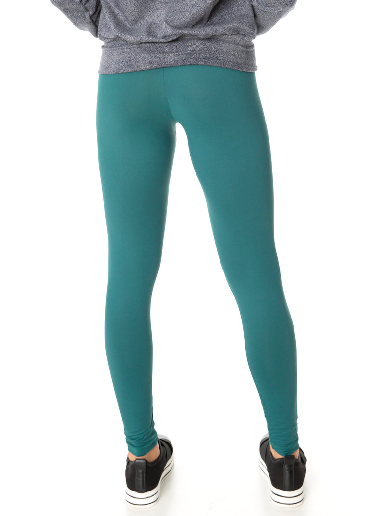 Buttery Soft Eco Compress F/L Tights - Emerald