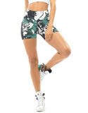 Leave Print Shorts - Activewear Brazil