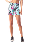 Power Up Floral Shorts - Activewear Brazil
