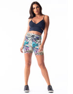 Animal Print Shorts - Activewear Brazil