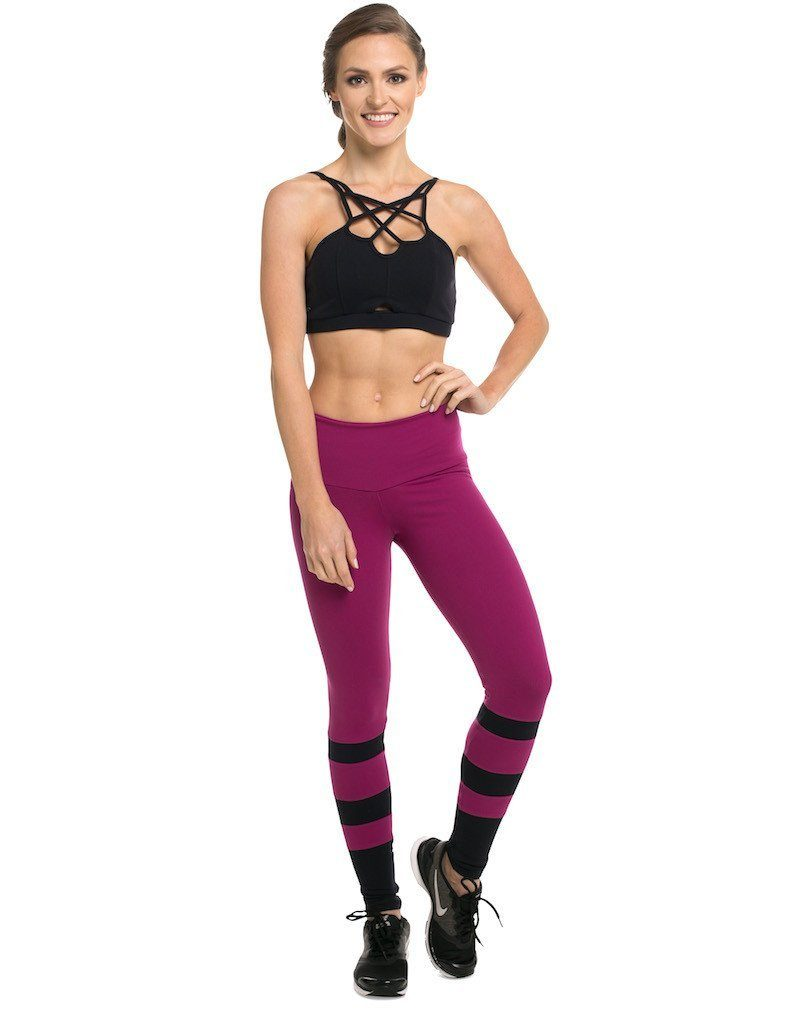 Fronts Straps Bra Top - Padded - Activewear Brazil