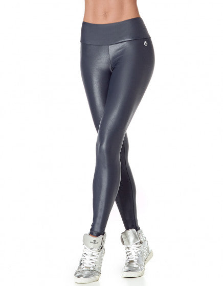 High Gloss Cirre F/L Tights - Grey - Activewear Brazil