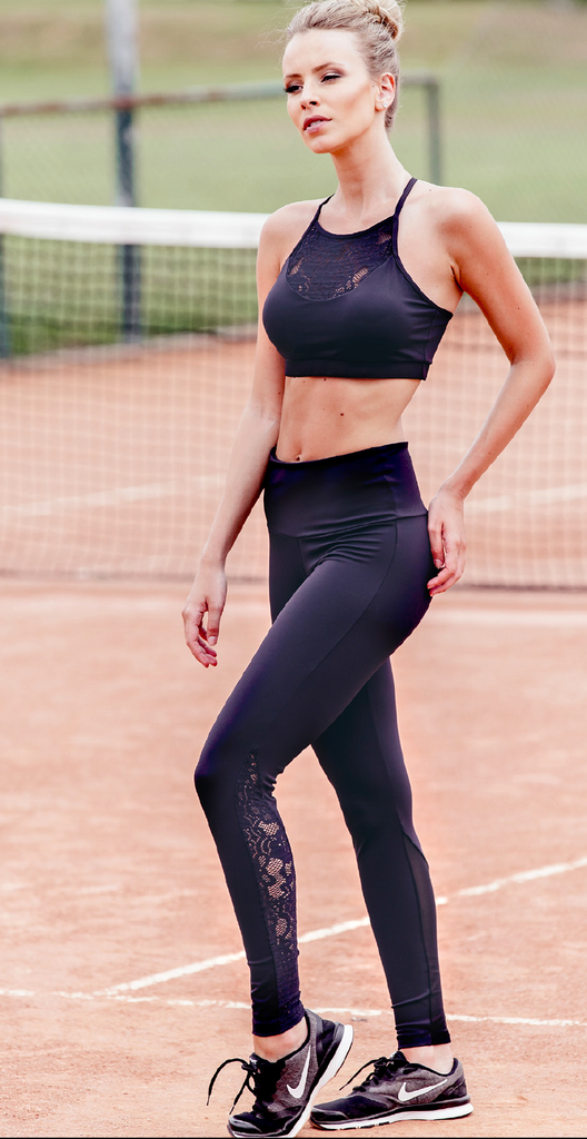 Lace Bra Top - Padded - Activewear Brazil