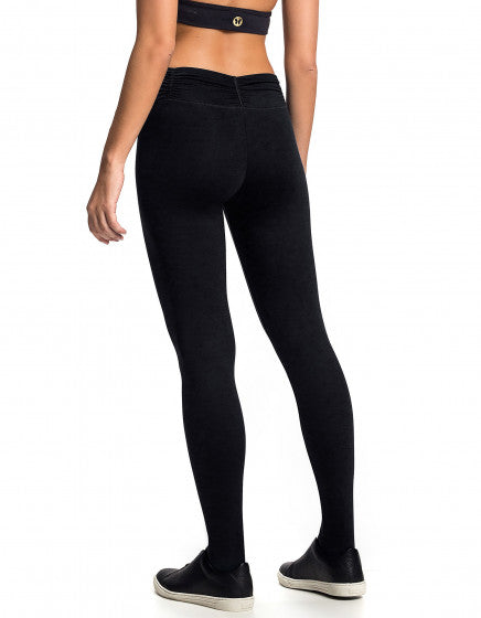 Lightweight F/L Tights Gathered Waist - Activewear Brazil